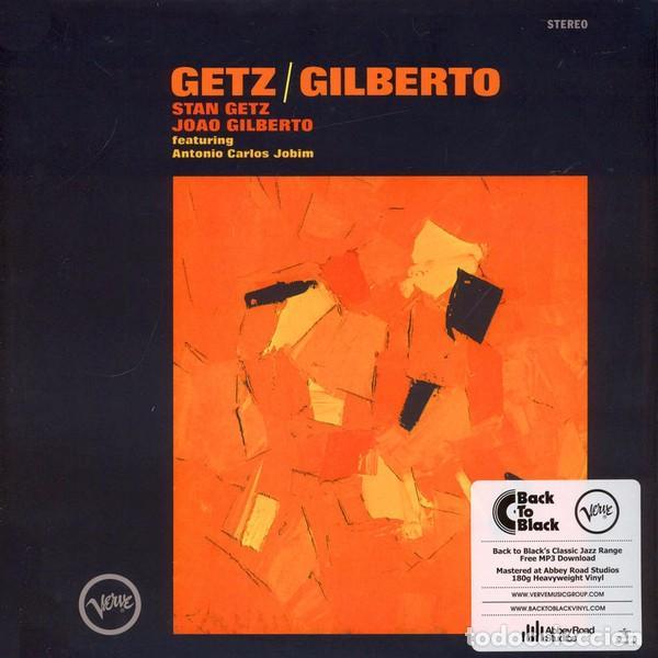 LP GETZ / GILBERTO STAN GETZ JOAO GILBERTO VINILO 180G JAZZ BOSSA (Música - Discos - LP Vinilo - Jazz, Jazz-Rock, Blues y R&B)