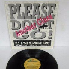 Discos de vinilo: ANOTHER CLASS / K.C. & SUNSHINE BAND - PLEASE DON'T GO - MAXI - BOY RECORDS 1992 SPAIN. Lote 100156475