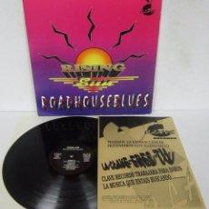 Discos de vinilo: RISING / SUN - ROADHOUSE BLUES - MAXI - LA CLAVE RECORDS 1993 SPAIN CON FOLLETO. Lote 100156815