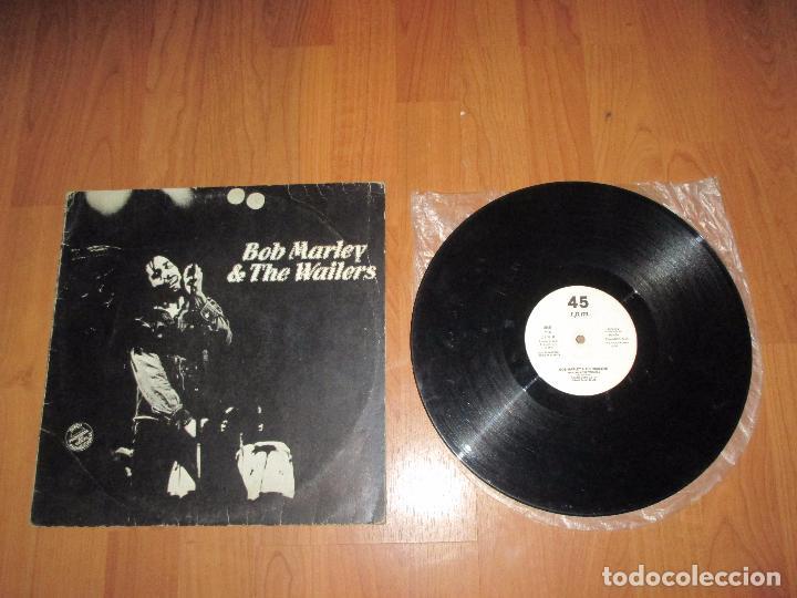 BOB MARLEY & THE WAILERS - WAR / NO MORE TROUBLE / EXODUS - MAXI - ISLAND RECORDS - SPAIN - IBL - (Música - Discos de Vinilo - Maxi Singles - Reggae - Ska)