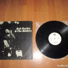 Discos de vinilo: BOB MARLEY & THE WAILERS - WAR / NO MORE TROUBLE / EXODUS - MAXI - ISLAND RECORDS - SPAIN - IBL -. Lote 100165171