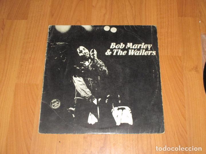 Discos de vinilo: BOB MARLEY & THE WAILERS - WAR / NO MORE TROUBLE / EXODUS - MAXI - ISLAND RECORDS - SPAIN - IBL - - Foto 2 - 100165171