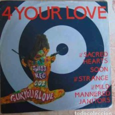 Discos de vinilo: THE 4 YOUR LOVE EP - 4 BANDAS DE GARAGE. Lote 100170943