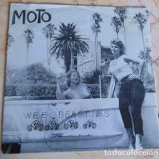 Discos de vinilo: MOTO – WEE BEASTIES EP - POWER POP PUNK - 1993. Lote 100171007