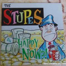 Discos de vinilo: THE STUPES – HAPPY NOW?! - EP MUNSTER 1995. Lote 100177863