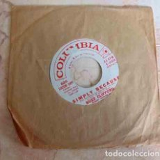 Discos de vinilo: BUZZ CLIFFORD – THREE LITTLE FISHES - SINGLE USA - PROMO - ROCK'N'ROLL. Lote 100178083