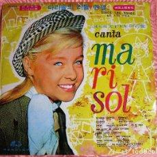 Discos de vinilo: MARISOL LP DE KOREA ESTANDO CONTIGO- CORRE, CORRE, CABALLITO - NANA ITALIANA -. Lote 100198019