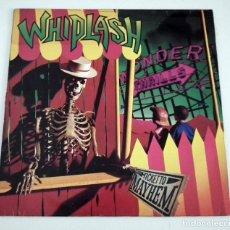 Discos de vinilo: LP WHIPLASH - TICKET TO MAYHEM. Lote 43257577