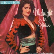 Discos de vinilo: LUISA LINARES Y LOS GALINDOS, EP, GADITANA MIA + 3, AÑO 1959. Lote 100199523