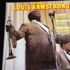 Discos de vinilo: LP LOUIS ARMSTRONG: THE FANTASTIC LOUIS ARMSTRONG (2 LP). Lote 100205987