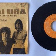 Discos de vinilo: CYAN. LOUISE 8 (MY LITTLE SHIP) - MISALUBA. SINGLE 45 RPM DE 1971. Lote 100209351