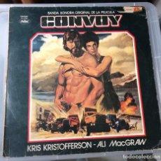 Discos de vinilo: CONVOY - BANDA SONORA DE LA LELICULA - CON KRIS KRISTOFFERSON .. LP DE CAPITOL - 1978 .. Lote 100209467