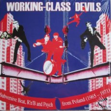Disques de vinyle: VARIOS ARTISTAS: WORKING CLASS DEVILS: SUBVERSIVE BEAT, R´N´B AND PSYCH FROM POLAND 1965-1971. Lote 100220775
