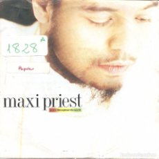 Disques de vinyle: MAXI PRIEST - PEACE THROUGHOUT THE WORLD / CLOSE TO YOU (SINGLE INGLES, TEN RECORDS 1990). Lote 100240451