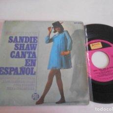 Discos de vinilo: EP DE SANDIE SHAW-MARIONETAS EN LA CUERDA +3-EN ESPAÑOL. Lote 100242179