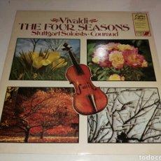 Discos de vinilo: MARCEL CORAUD- VIVALDI- LP THE FOUR SEASONS- ASTORRE FERRARI THE STUTTGART SOLOISTS- ENGLAND 1981 2. Lote 100243972