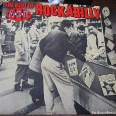 Discos de vinilo: THE BEST OF ROCKABILLY ACE RECORDS - EN PERFECTO ESTADO. Lote 100244319