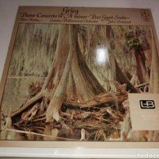 Discos de vinilo: GRIEG- PIANO CONCERTO IN A MINOR- PEER GYNT SUITE-MADE IN GREAT BRITAIN 1971-CLASSICS FOR PLEASURE 2. Lote 100245856