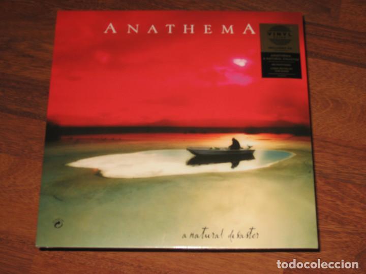 (SIN ABRIR) _ ANATHEMA - A NATURAL DISASTER _ LP + CD (VINILO 180 GRAMOS - REMASTERIZADO) (Música - Discos - LP Vinilo - Heavy - Metal)