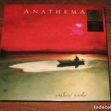 Discos de vinilo: (SIN ABRIR) _ ANATHEMA - A NATURAL DISASTER _ LP + CD (VINILO 180 GRAMOS - REMASTERIZADO). Lote 100247151