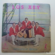 Discos de vinilo: LOS XEY ''LA RANA'' DEL AÑO 1959 VINILO DE 7'' ES UN EP DE 4 CANCIONES. Lote 100249747