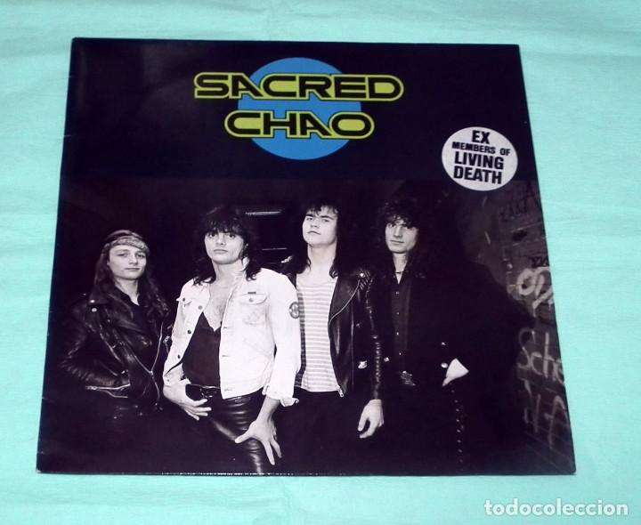 LP SACRED CHAO - SACRED CHAO (Música - Discos - LP Vinilo - Heavy - Metal)