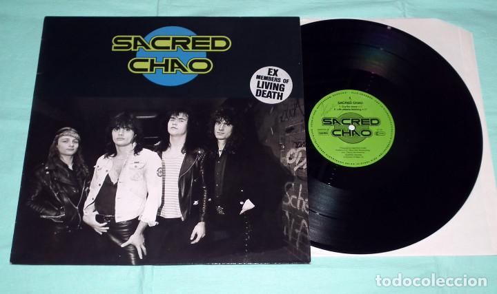 Discos de vinilo: LP SACRED CHAO - SACRED CHAO - Foto 3 - 100253851