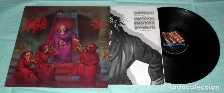 Discos de vinilo: LP DEATH - SCREAM BLOODY GORE - Foto 3 - 100254087