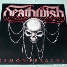 Discos de vinilo: LP DEATHWISH - DEMON PREACHER . Lote 100254191