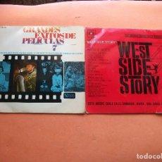 Discos de vinilo: B.S.O. - (2) EXITOS PELICULAS 7/W.SIDE.HIST EP SPAIN 1962 PDELUXE. Lote 100261551