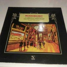 Discos de vinilo: MUSSORGSKY- LP CUADROS DE UNA EXPOSICION- ORQUESTA SINFONICA LONDRES- 1984 2. Lote 100261712