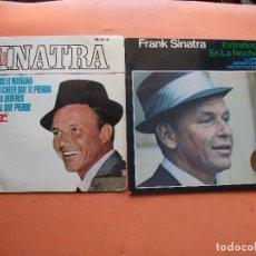 Discos de vinilo: FRANK SINATRA (2) ESTRAÑOS EN ../OLVIDEMOS EL ... EP SPAIN 1965 PDELUXE. Lote 100262067