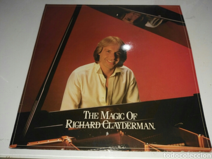 RICHARD CLAYDERMAN- LP THE MAGIC OF RICHARD CLAYDERMAN- DOBLE DISCO CON PORTADA 1982 2 (Música - Discos - LP Vinilo - Cantautores Extranjeros)