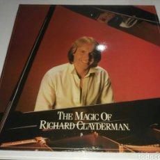 Discos de vinilo: RICHARD CLAYDERMAN- LP THE MAGIC OF RICHARD CLAYDERMAN- DOBLE DISCO CON PORTADA 1982 2. Lote 100264215