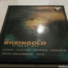 Discos de vinilo: WAGNER- LP DAS RHEINGOLD- EL ORO DEL RHIN- 3 LP'S+ LIBRETO DECCA 1959 2. Lote 100265168