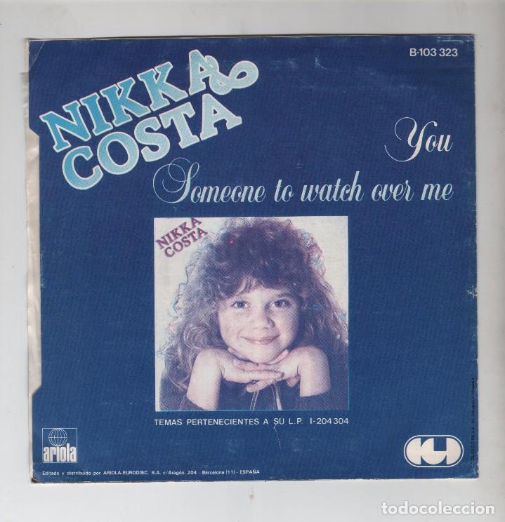 Discos de vinilo: SINGLE NIKKA COSTA, YOU - Foto 2 - 100287111