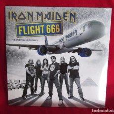 Discos de vinilo: IRON MAIDEN - FLIGHT 666 THE ORIGINAL SOUNDTRACK - 2 LP 180 GR - PARLOPHONE 2017 EU NUEVO PRECINTADO. Lote 100290827