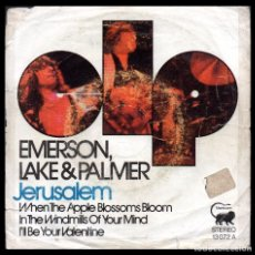 Discos de vinil: XX EMERSON LAKE PALMER, JERUSALEM Y DEMAS.. Lote 100291899