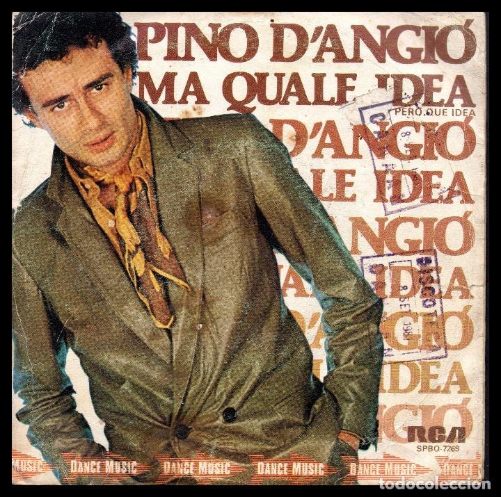 Xx Pino D Angio Ma Quale Idea Y Demas Buy Vinyl Singles Pop Rock International Of The 70s At Todocoleccion 100294071