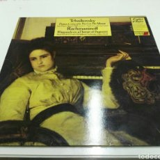 Discos de vinilo: TCHAIKOVSKY- LP PIANO CONCERT N 1 RACHMANINOFF RHAPSODY ON A THEME OF PAGANINI- CONTOUR RED LABEL 2. Lote 100301950