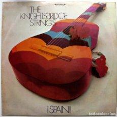 Discos de vinilo: THE KNIGHTSBRIDGE STRINGS - ¡¡SPAIN!! - LP MONUMENT 1968 BPY. Lote 100312147