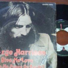 Discos de vinilo: GEORGE HARRISON GIVE ME LOVE SINGLE VINILO. Lote 100282519