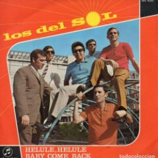 Discos de vinilo: DEL SOL, SG, HELULE, HELULE + 1, AÑO 1968 PROMO. Lote 100321219