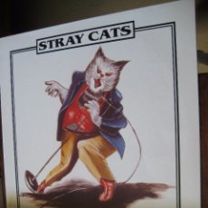 Discos de vinilo: STRAY CATS - RUMBLE IN TOWN - EN PERFECTO ESTADO. Lote 100323239