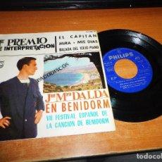 Discos de vinilo: JOSE MARIA DALDA EL CAPITAN VII FESTIVAL DE LA CANCION DE BENIDORM EP VINILO 1965 PHILIPS 4 TEMAS. Lote 100325135