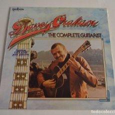 Discos de vinilo: DAVEY GRAHAM - THE COMPLETE GUITARIST. Lote 100326199