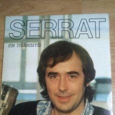 Discos de vinilo: JOAN MANUEL SERRAT -EN TRANSITO - LP 1981 ARIOLA - CON ENCARTES. Lote 100327379