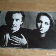 Discos de vinilo: ANA BELEN Y VICTOR MANUEL - PARA LA TERNURA SIEMPRE HAY TIEMPO DOBLE LP CARPETA DOBLE CON ENCARTES. Lote 100329343