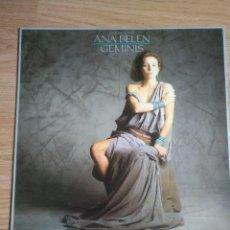 Discos de vinilo: ANA BELEN - GEMINIS / LP 1984 CBS CON ENCARTE. Lote 100330915