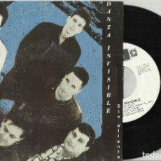 Discos de vinilo: DANZA INVISIBLE.SINGLE SIN ALIENTO - 1986. Lote 136330782